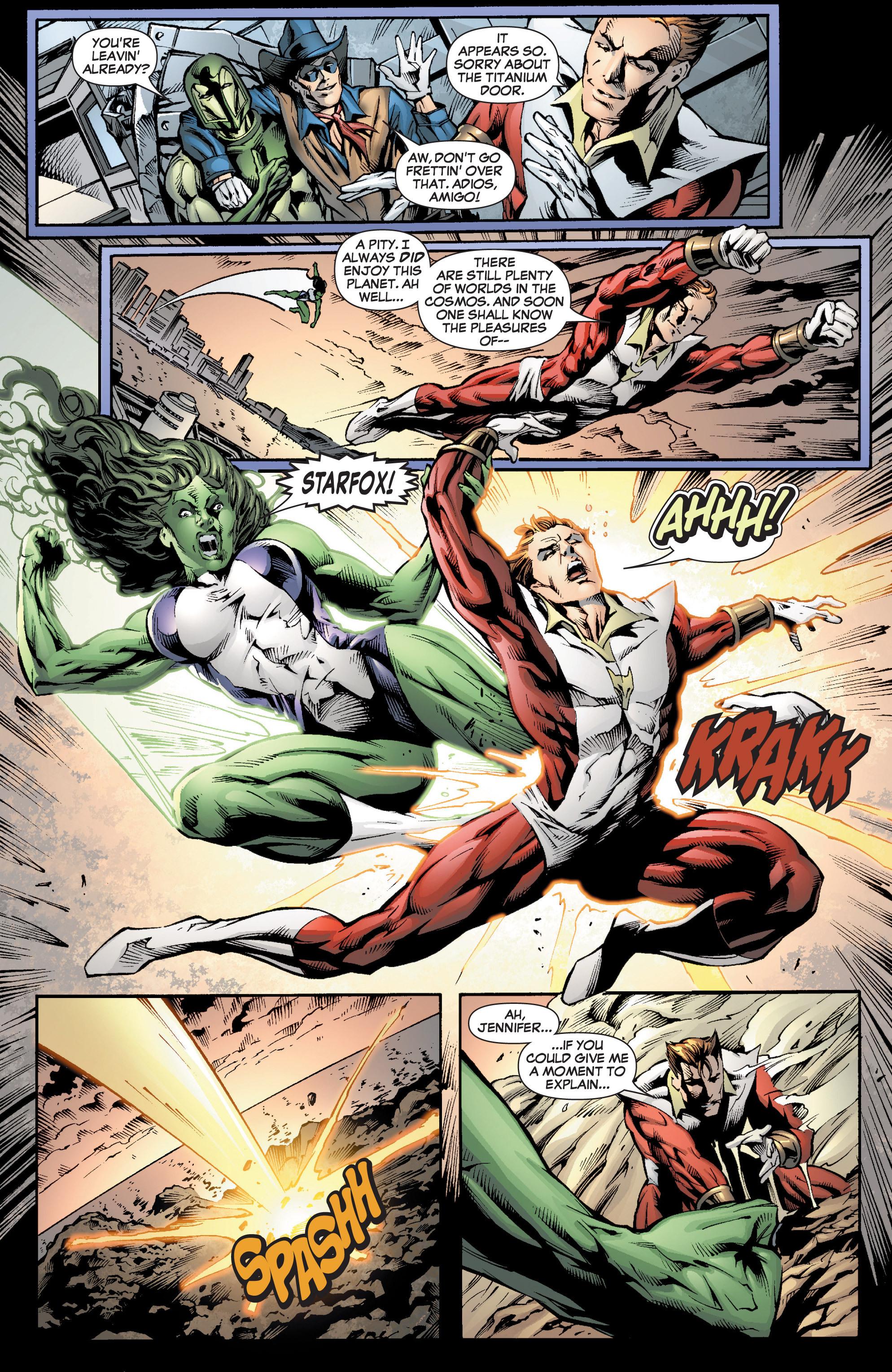 Read online She-Hulk (2005) comic -  Issue #7 - 21