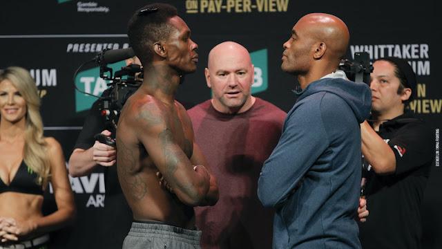 UFC 234 Results : Anderson Silva vs Israel Adesanya