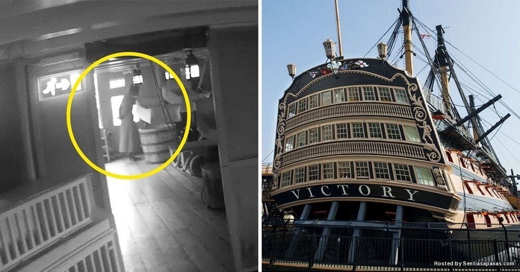 Hantu Isteri Laksamana Lawat Kapal Perang HMS Victory!