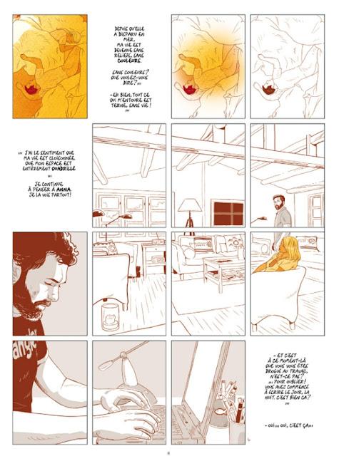 Londres - Santorin aller-retour Page 8 aux éditions Casterman