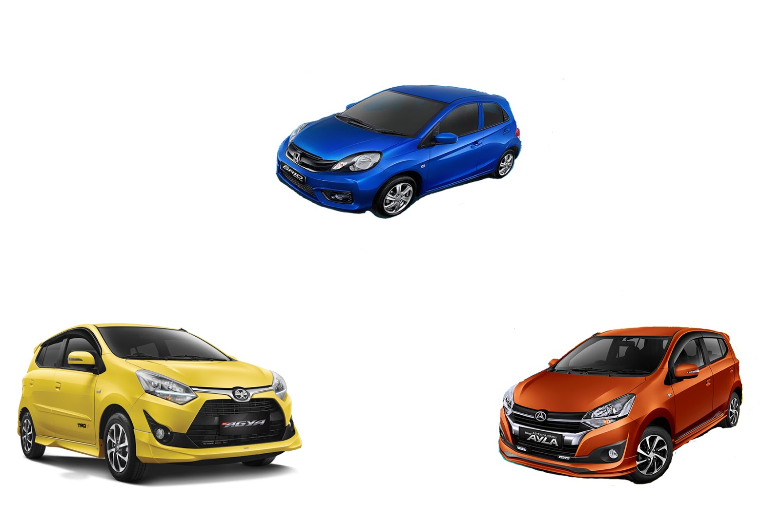 Adu Keunggulan Dan Kelebihan New Toyota Agya Vs New Daihatsu Ayla Vs