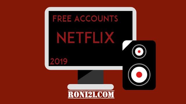 free netflix accounts 2019