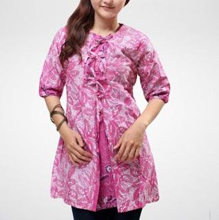 Baju Batik Kerja Wanita Dress