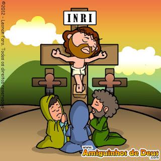 Resultado de imagem para morte de jesus desenho