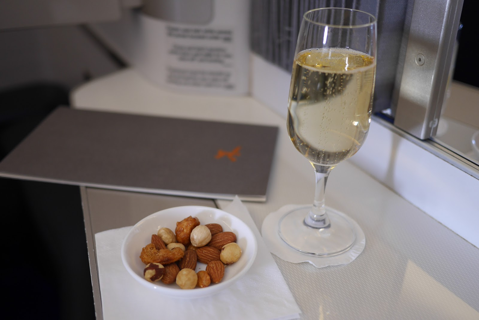 Review of British Airways First Class flight from London Gatwick in 2018 by www.CalMcTravels.com