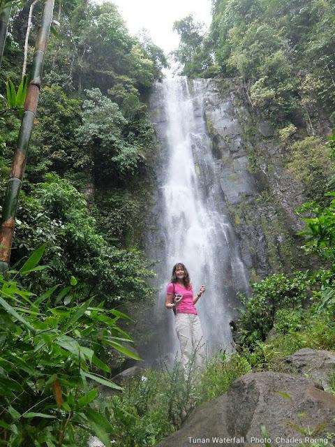 Waterfall in Minahasa regency