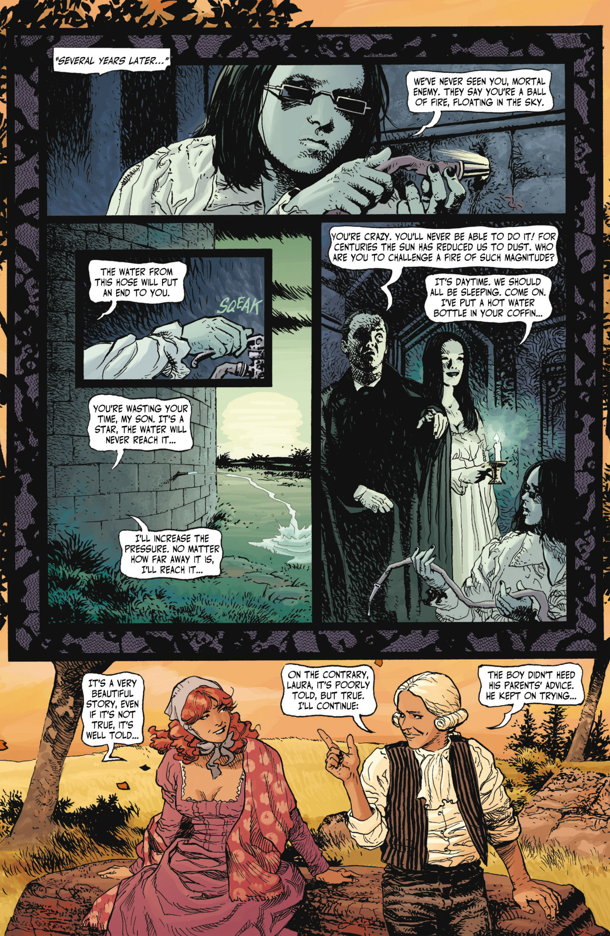 Read online Alejandro Jodorowsky's Screaming Planet comic -  Issue #1 - 39