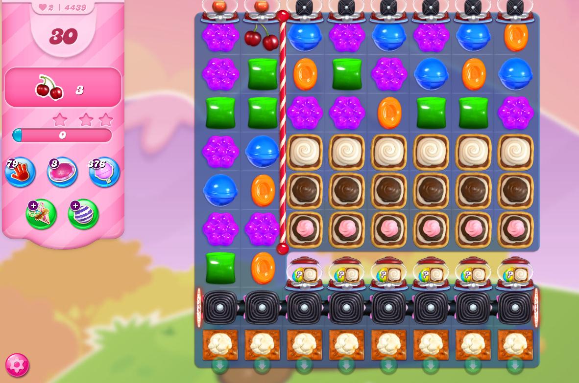 Candy Crush Saga level 4439