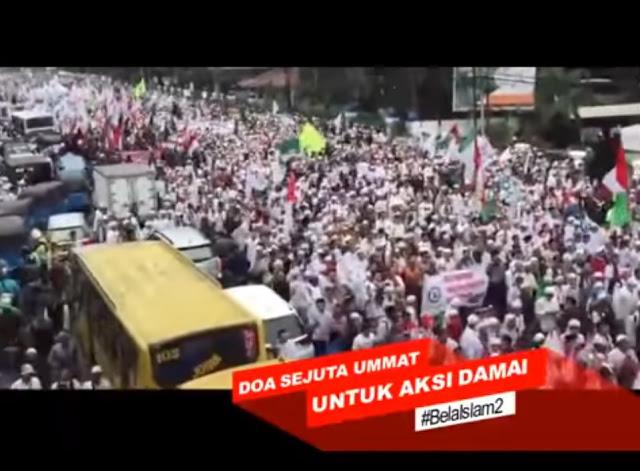 Video Doa Aksi Bela Islam Ini Menguras Air Mata