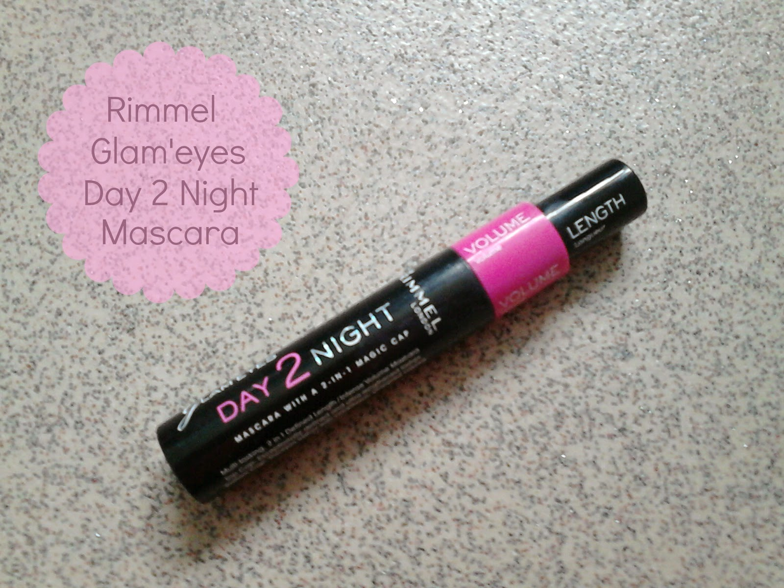 Rimmel Glam'eyes Day 2 Night Mascara