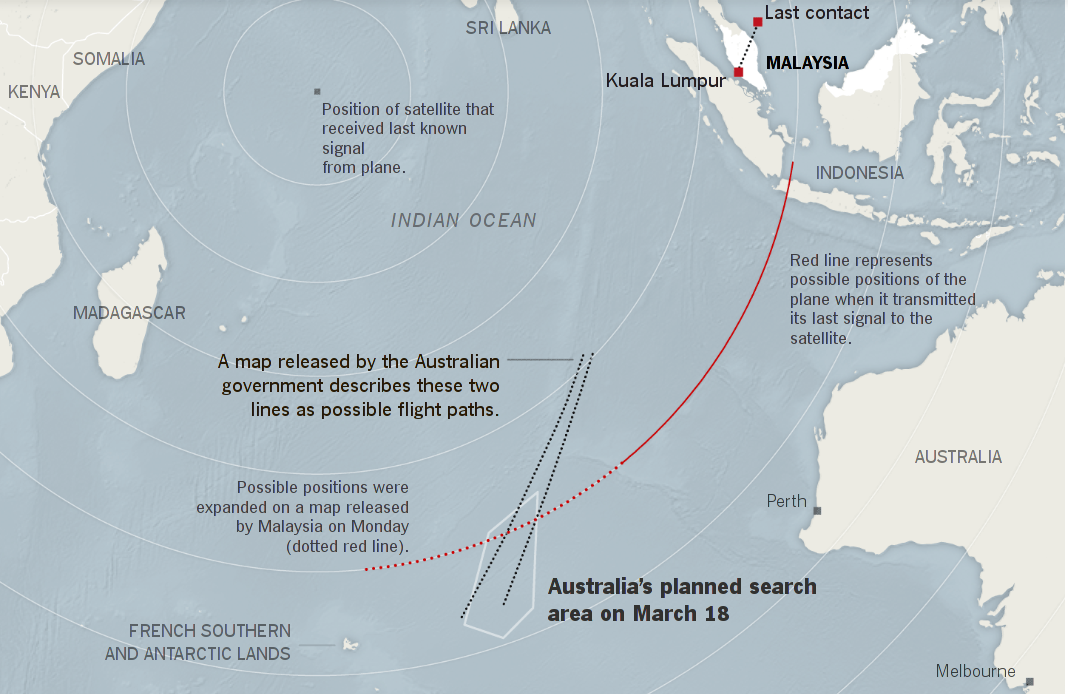 EBL: Has MH370 Debris Finally Been Found? Crashed in Indian Ocean on