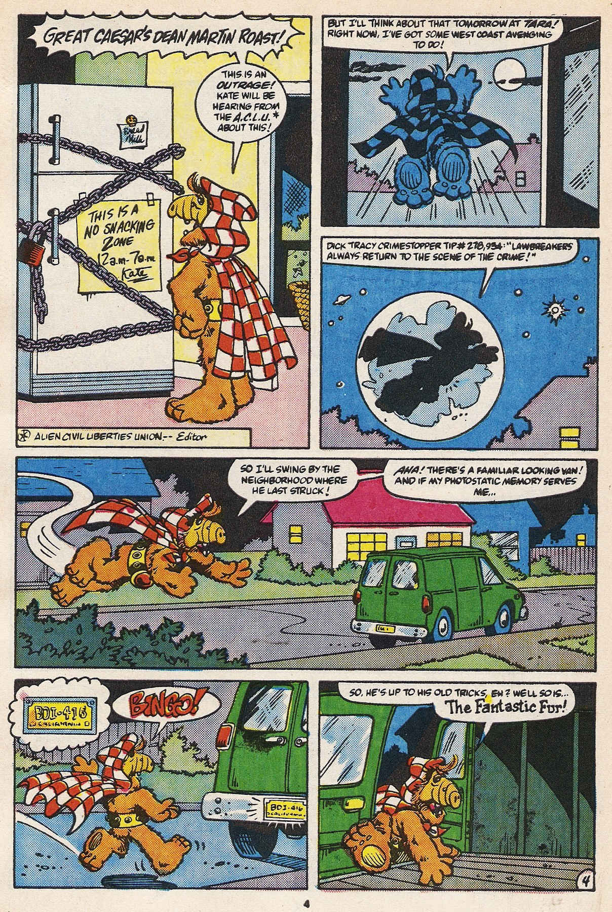 Read online ALF comic -  Issue #16 - 6