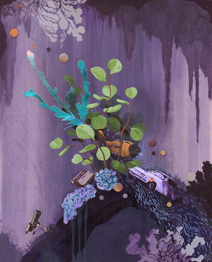 Гибридная форма живописи. Lauren Matsumoto