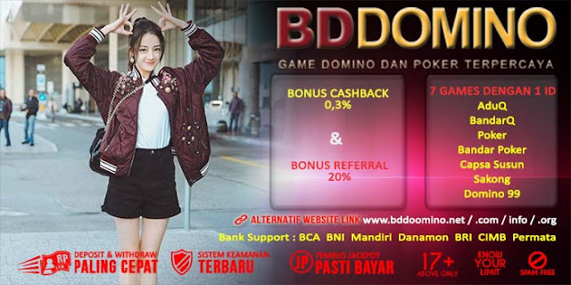 Bonus Referral Judi BandarQ Online BdDomino