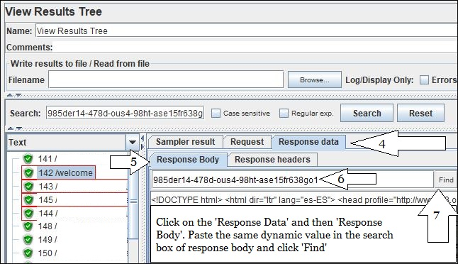 JMeter - Capture Dynamic Value present in Request Body