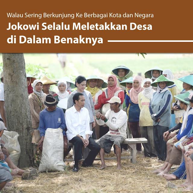 Presiden Jokowi: Desa Selalu Ada di Pikiran Saya