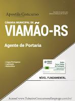 apostila Câmara de Viamão 2017 Agente de Portaria.