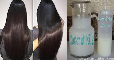 shampoo que alisa o cabelo caseiro
