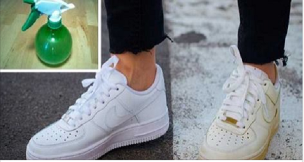 Trick to Clean Your Dirty White Shoes