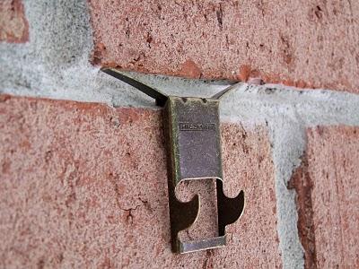 Brick Laminate Picture Brick Hanger Clips