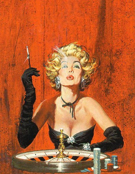 gambling art images