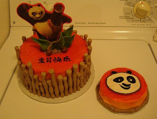 dua kue ultah kungfu panda
