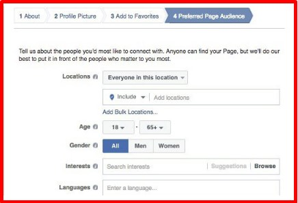 how to create a facebook page for a business step by step