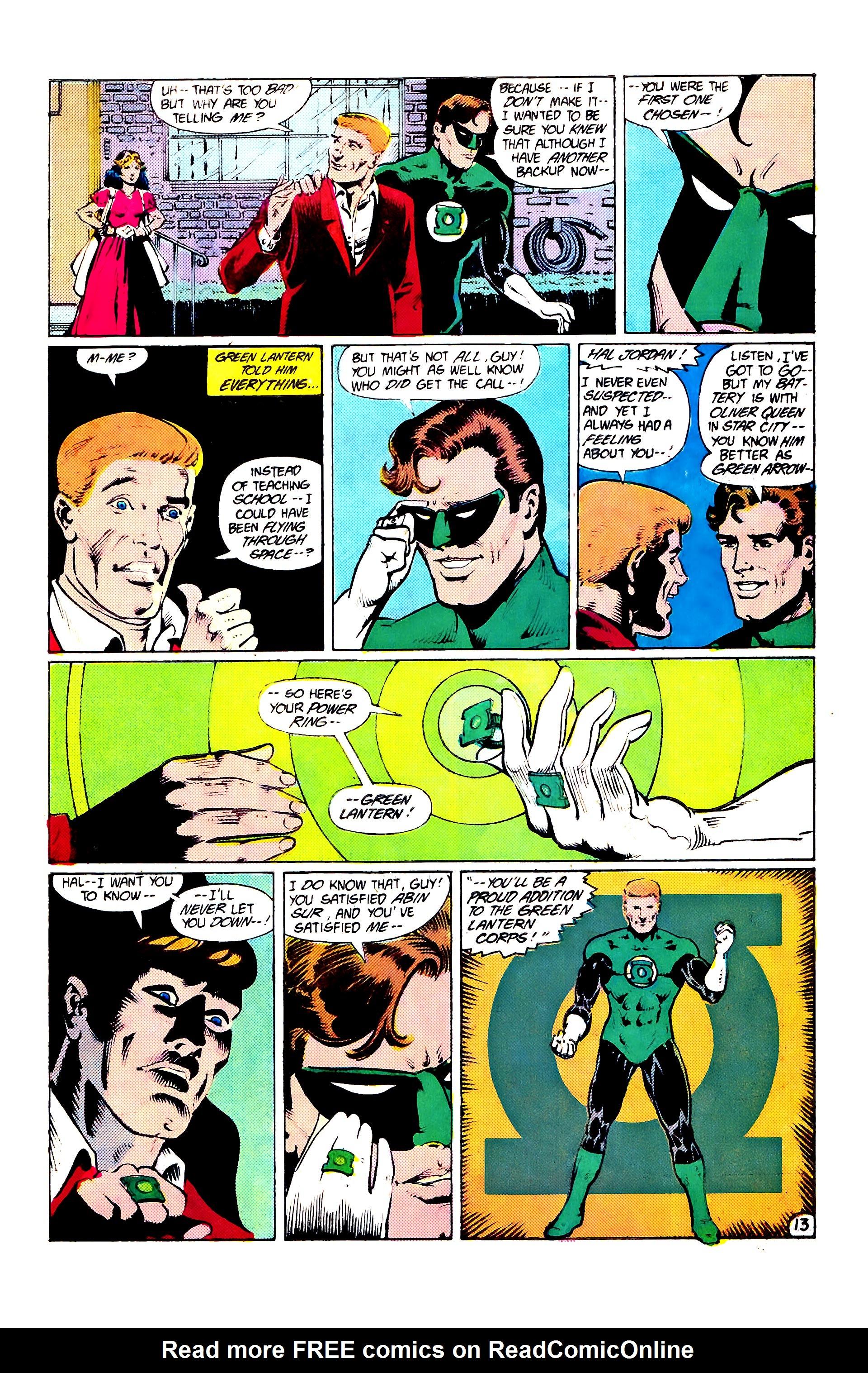 Read online Secret Origins (1986) comic -  Issue #7 - 19