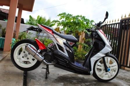 Modifikasi Honda Beat