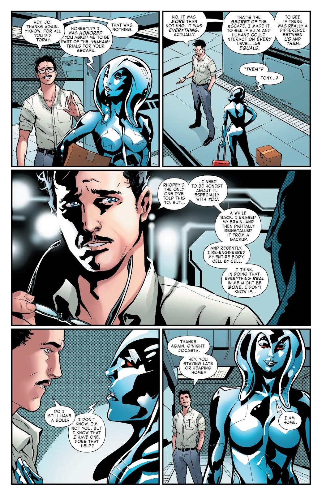 Read online Tony Stark: Iron Man comic -  Issue #3 - 20
