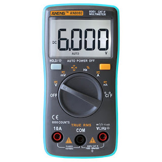 ANENG Digital Multimeter - Electronic Voltage Current Resistance Temperature Tester