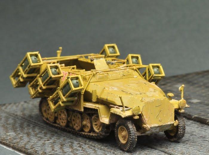 Powstanie Warszawskie w skali 1:72: Sd. Kfz. 251/1 Ausf. C