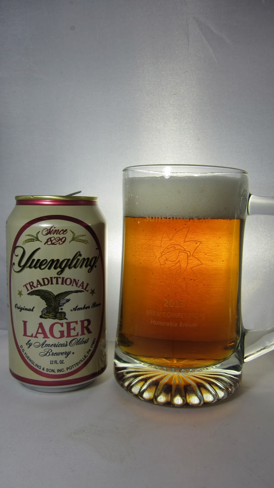 Chad'z Beer Reviews: Yuengling Traditional Lager (2014 re