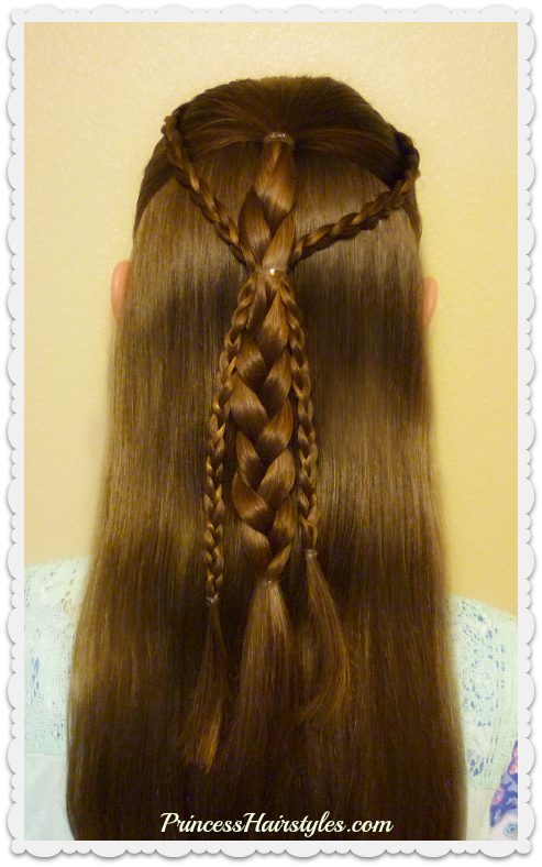 Quick And Easy Hairstyle For School Simple Gathered