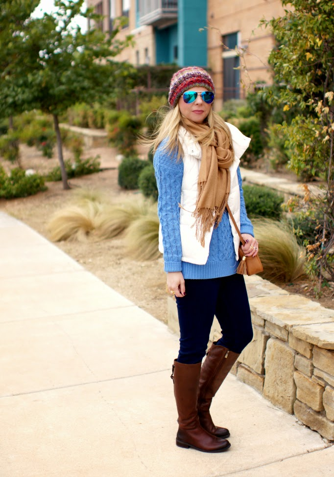 styling warm layers for winter