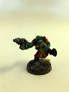 2nd Edition Orks - Evil Sun Madboy - Front
