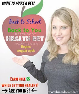 Health Bet, Beachbody Health Bet, Online health and fitness accountability groups, Country Heat, 21 Day Fix, Meal Planning, Accountability, Beachbody Bet, Successfully Fit, Lisa Decker