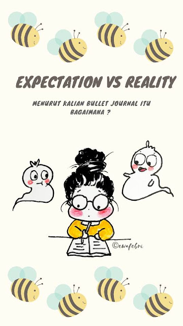 Bullet Journal Indonesia Expectation vs reality