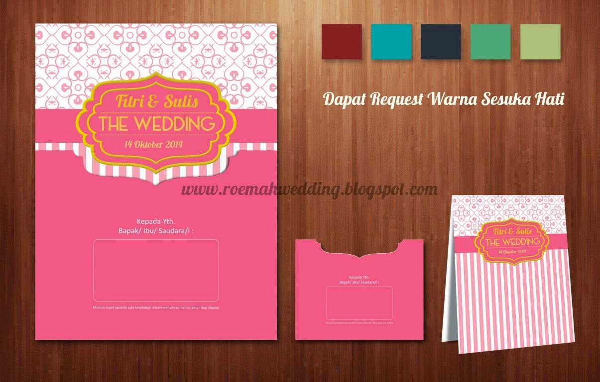 Download Desain Undangan Pernikahan Unik (Contoh)   Roemah ...
