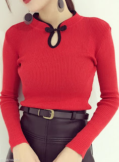 https://www.fashionmia.com/Products/band-collar-keyhole-sweater-201720.html