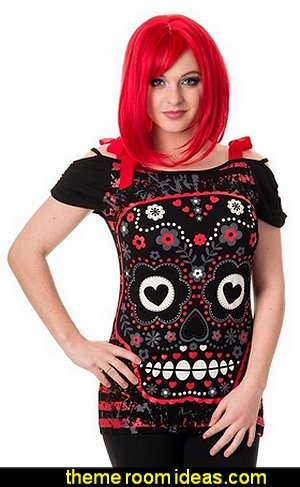 Banned Apparel See No Evil Top Red