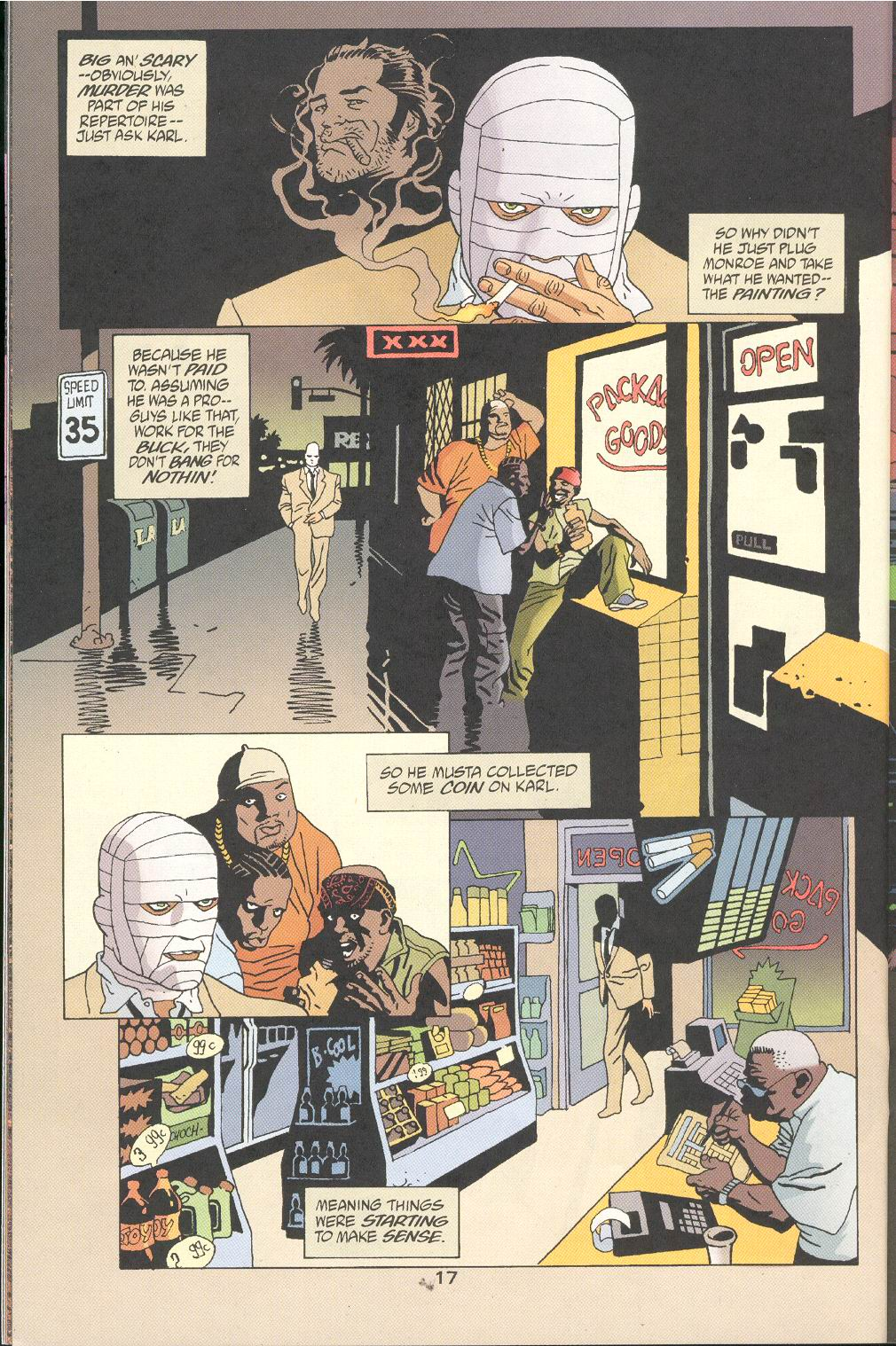 Read online 100 Bullets comic -  Issue #32 - 19