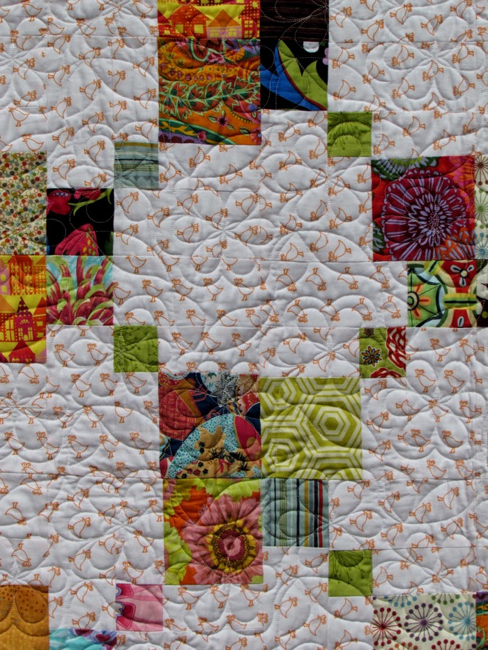 double disappearing 9-patch quilt by Marty Mason