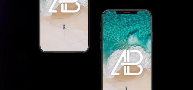 iPhone x Mockup Photoshop