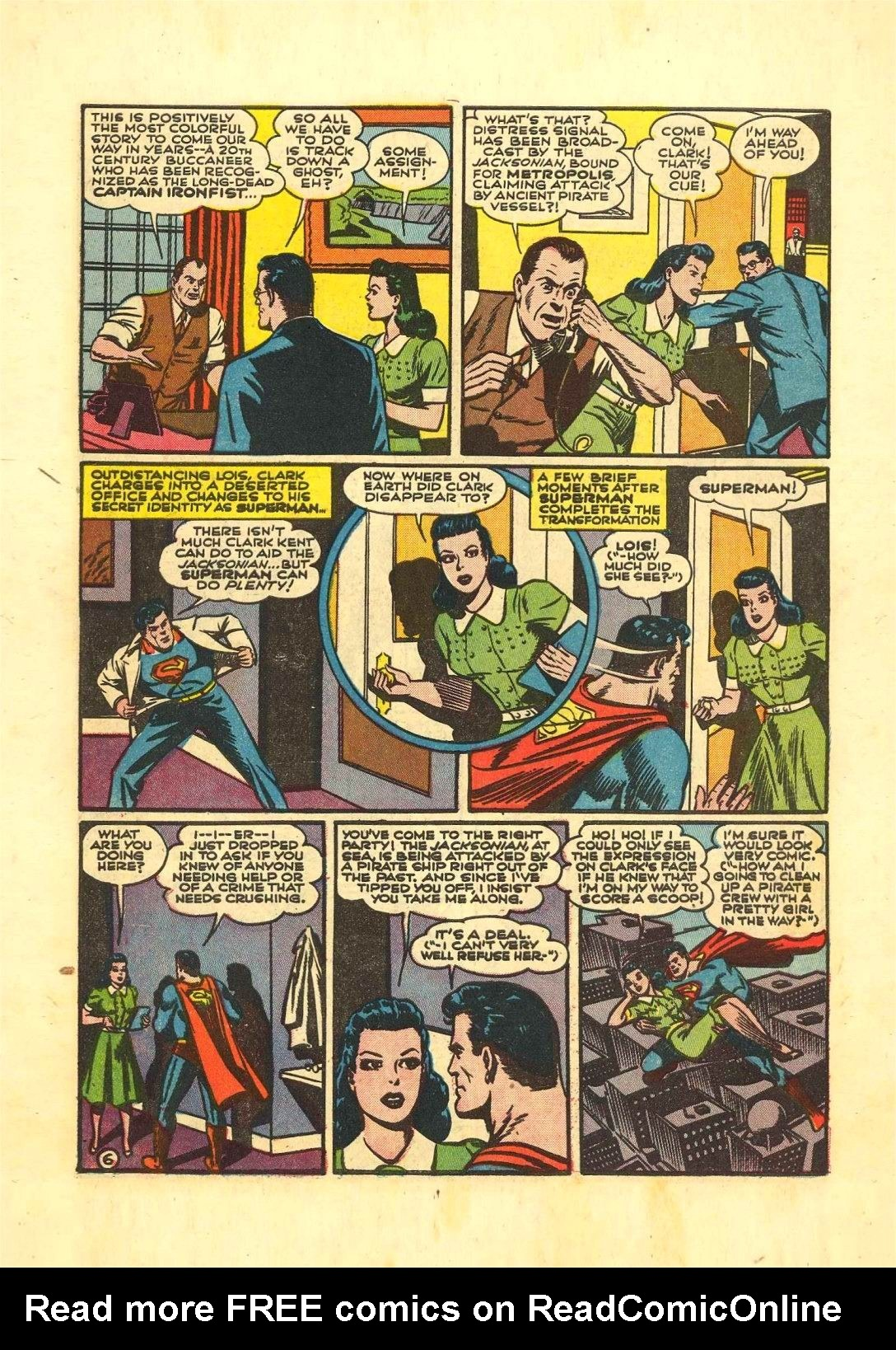 Read online Action Comics (1938) comic -  Issue #54 - 7