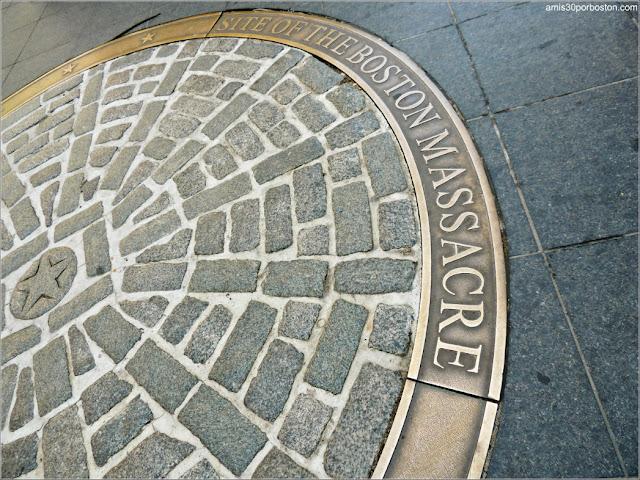Lugar de la Masacre de Boston