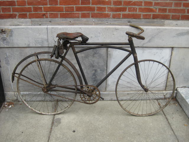 bikeville thoughts: harley davidson bicycle