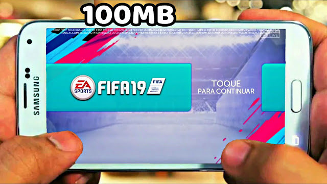 Download FIFA 19 Android 100 MB Mod DLS Best Graphics Offline