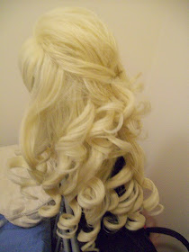 Doki Doki Cosplay How To Brush A Curly Wig Styling Hime
