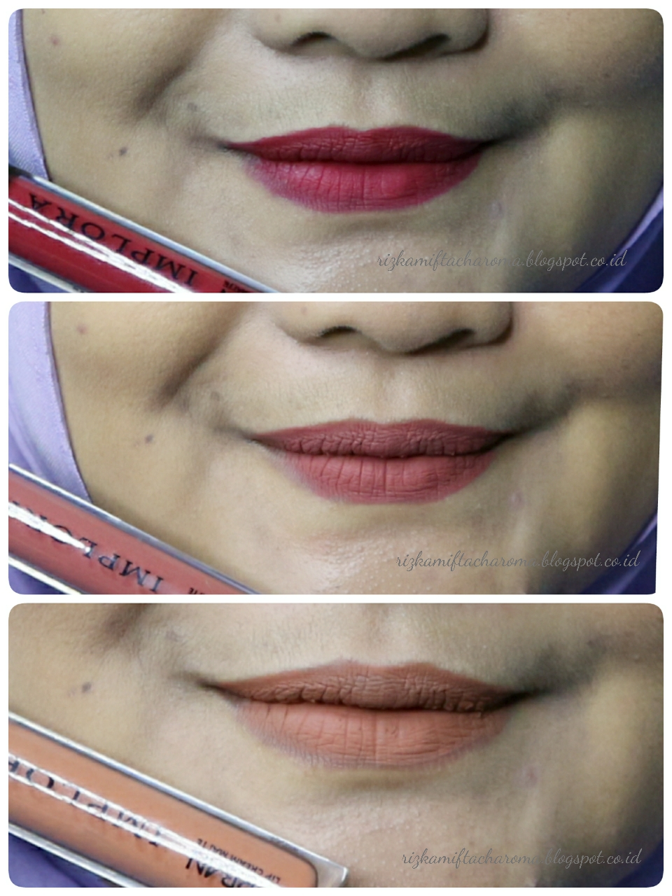 Rizka Mifta Charoma: [REVIEW] : IMPLORA URBAN LIP CREAM MATTE
